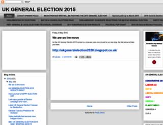 ukgeneralelection2015.blogspot.com.es screenshot
