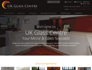 ukglasscentre.co.uk screenshot