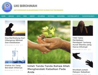 ukibirohmah.com screenshot