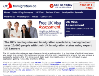 ukimmigrationco.com screenshot