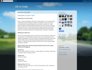 ukinindia.com screenshot