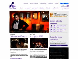 ukjewishfilm.org screenshot