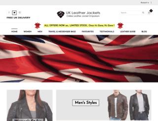 ukleatherjackets.co.uk screenshot