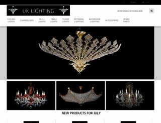 uklighting.co.uk screenshot