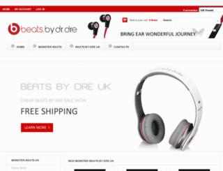 ukmonsterbeats.co.uk screenshot
