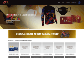 ukmstore.com screenshot