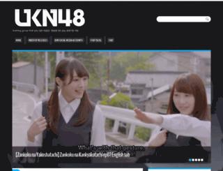 ukn48.com screenshot