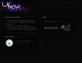 uknova.com screenshot
