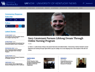 uknow.uky.edu screenshot