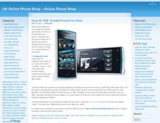 ukonlinephoneshop.wordpress.com screenshot