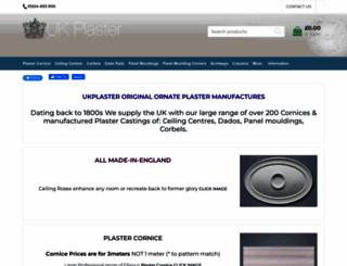 ukplaster.com screenshot