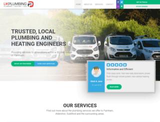 ukplumbingcontractors.com screenshot