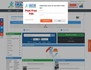 ukraine.usauk-classifieds.com screenshot