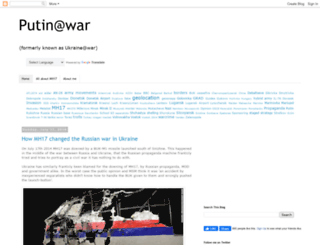 ukraineatwar.blogspot.sk screenshot