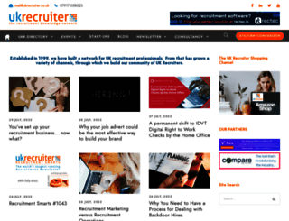 ukrecruiter.co.uk screenshot