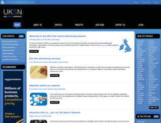 uksearchnetwork.co.uk screenshot