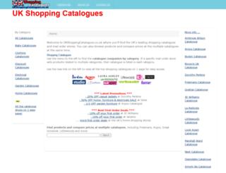 ukshoppingcatalogues.co.uk screenshot
