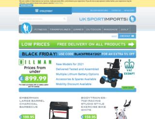 uksportimports.com screenshot