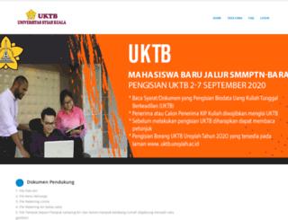 uktb.unsyiah.ac.id screenshot