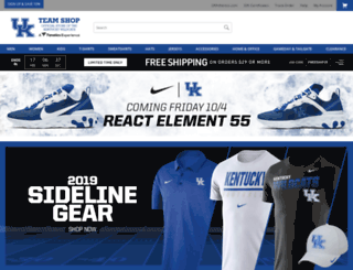 ukteamshop.com screenshot