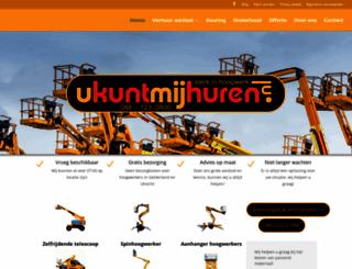 ukuntmijhuren.nl screenshot