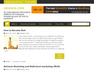 ukusca.com screenshot