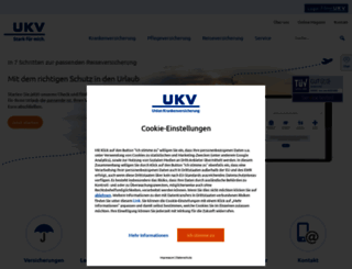 ukv.de screenshot