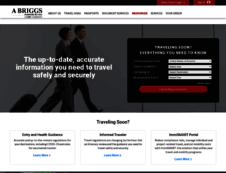 ukvisas.abriggs.com screenshot