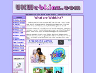 ukwebkinz.com screenshot