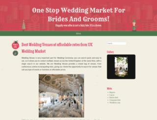 ukweddingmarket.wordpress.com screenshot