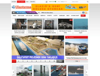 ulastirma.com.tr screenshot