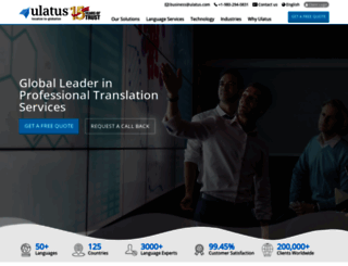 ulatus.com screenshot