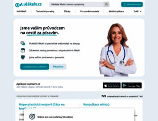 ulekare.cz screenshot