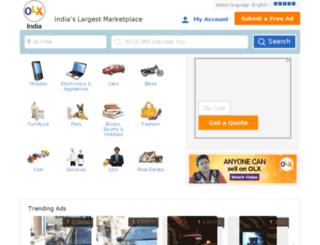 ulhasnagar.olx.in screenshot