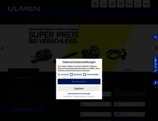ulmen.com screenshot