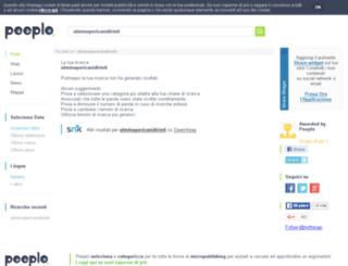 ulminopericanidirieti.splinder.com screenshot