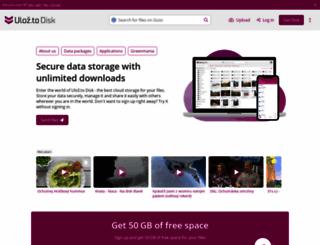 ulozto.net screenshot