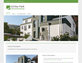 ulrike-falk.de screenshot
