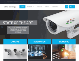 ultima-technology.com screenshot