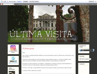 ultima-visita.blogspot.com screenshot