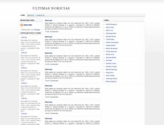 ultimasnoriciases.blogspot.com screenshot
