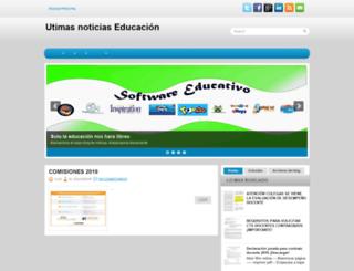 ultimasnoticiaseneducacion.blogspot.pe screenshot