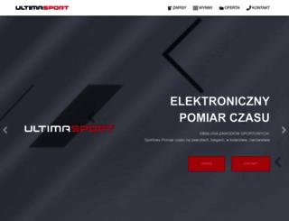 ultimasport.pl screenshot