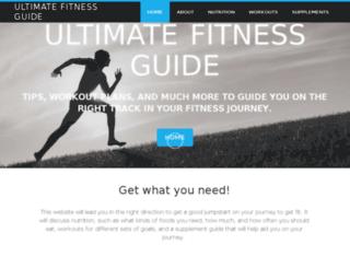 ultimate-fitness-guide.com screenshot