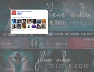 ultimate-jhene.com screenshot