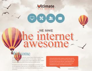 ultimate-webdesign.co.uk screenshot