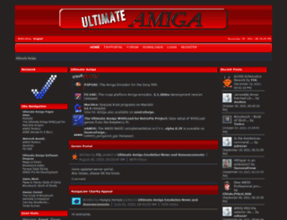 ultimateamiga.co.uk screenshot