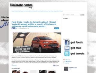ultimateautos.blogspot.com screenshot