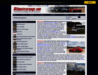 ultimatecarpage.com screenshot