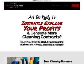 ultimatecleaningbusiness.com screenshot